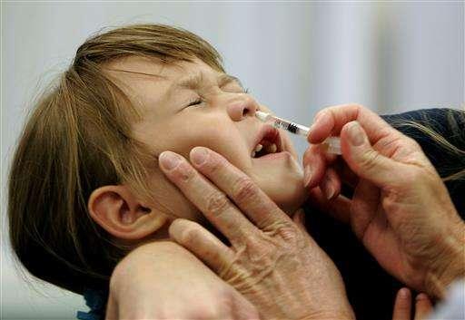 Ouch! Flu spray fails again, panel urges shot instead