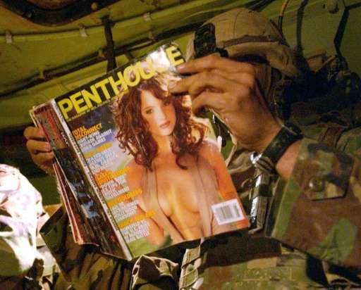 Parent company FriendFinder Networks Inc. said Penthouse magazine will henceforth be released in online-only format and that sub