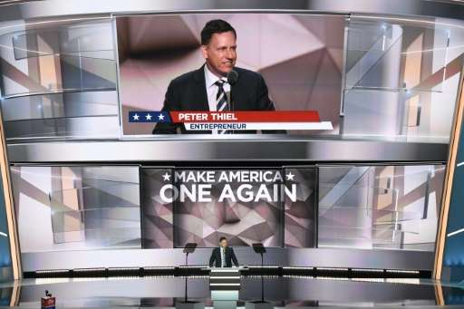 PayPal co-founder Peter Thiel became the first openly gay speaker at a Republican convention