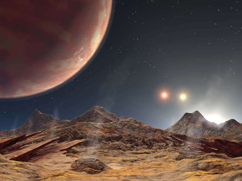 Planet with triple-star system found