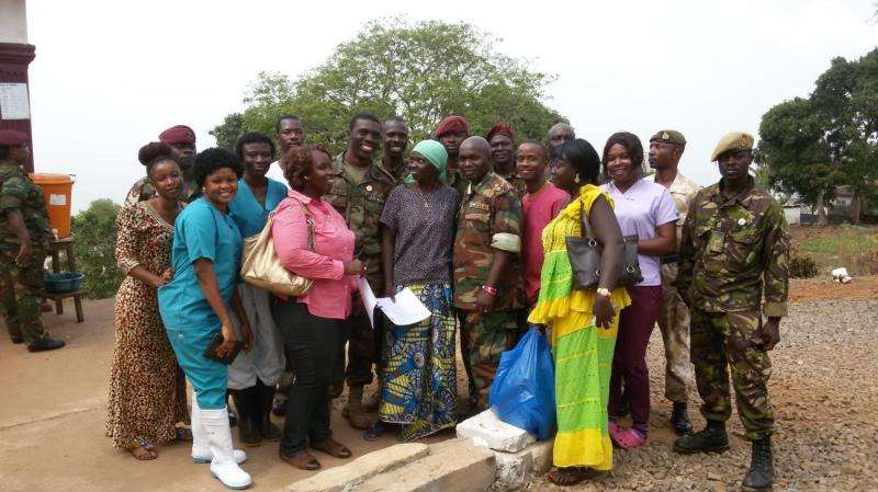 Post-Ebola syndrome in Sierra Leone