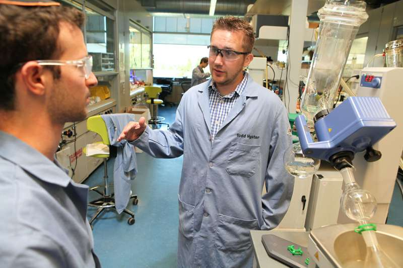 Professor explores new territory by bridging chemistry, biology