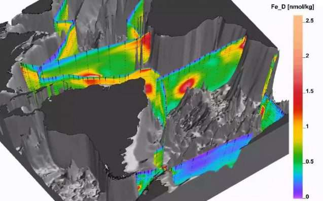 Project maps the chemistry of the world's oceans