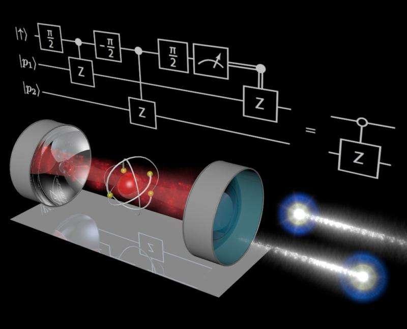 Quantum processor for single photons