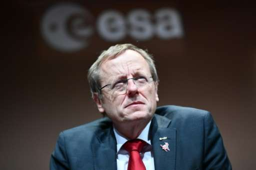 """""""I propose to go on with the ExoMars 2020 mission, but we need money for that,"""" ESA Director General Jan Woerner tells"""