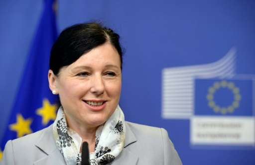 """""""It is our duty to protect people in Europe from incitement to hatred and violence online,"""" European commissioner for"""