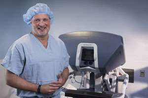 Robotic surgery technique for lung cancer provides more precision, shorter recovery