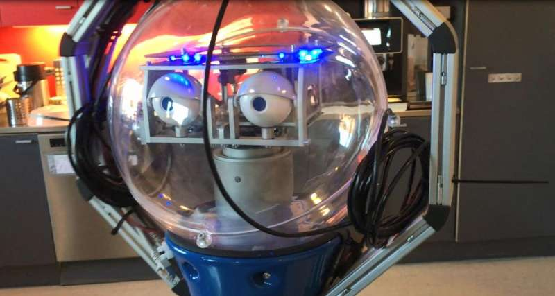 Robot learns its way around university's robotics department