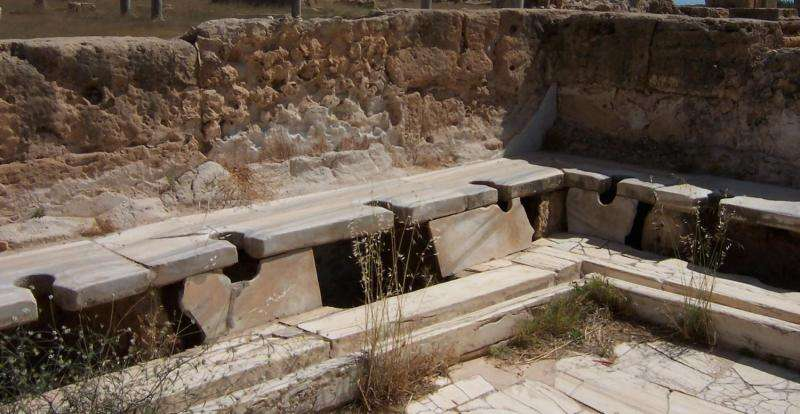 Roman toilets gave no clear health benefit, and Romanization actually spread parasites