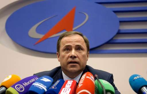 """Roscosmos chief Igor Komarov last month admitted that Russia """"does not have financial capabilities for advanced space proje"""