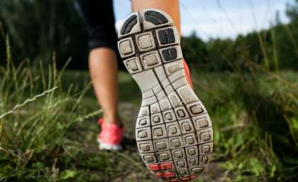 Runners' feet have power of adaptation