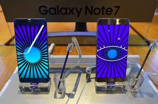 Samsung has suspended sales of the Galaxy Note 7 and recalled 2.5 million units following problems with batteries exploding or b