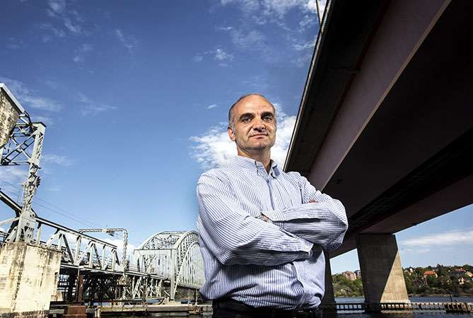 Sensors monitor Sweden's bridges – and even enable them to tweet