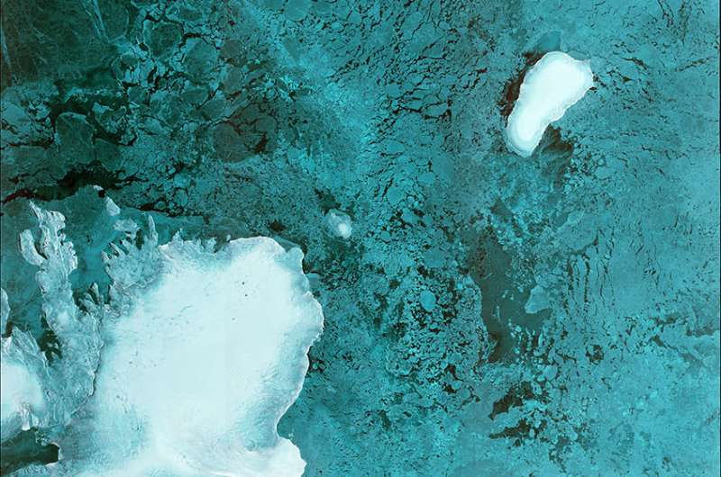 Sentinel-1B first image