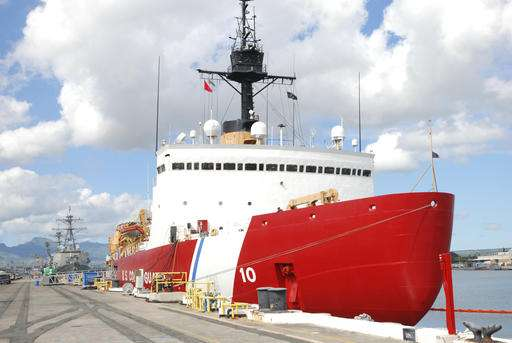 Ship to mash, ram polar ice as US aims to update aging fleet