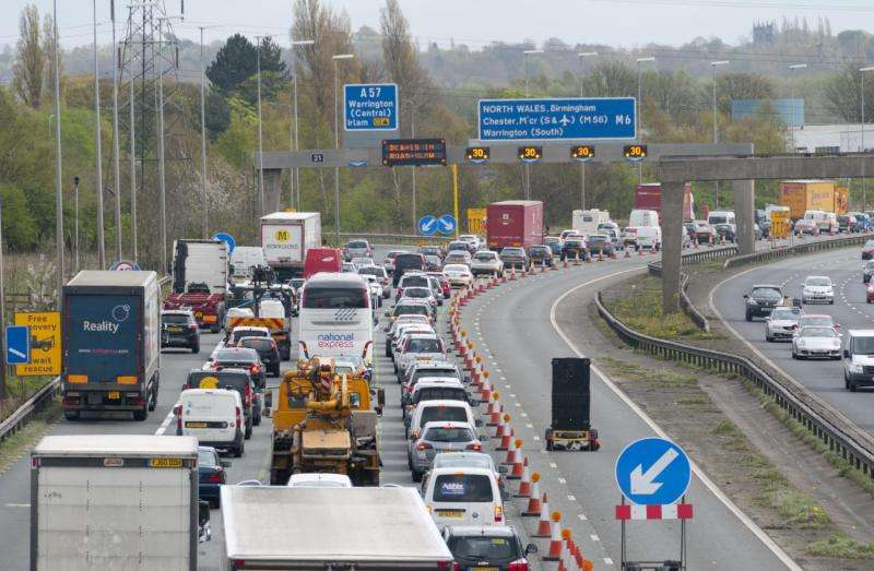 Sitting in traffic jams is officially bad for you
