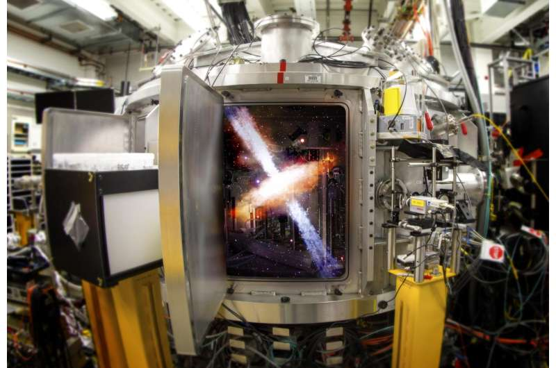 SLAC researchers recreate the extreme universe in the lab
