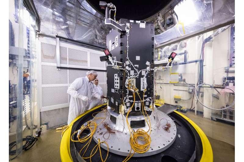 Solar probe plus mission moves into advanced development