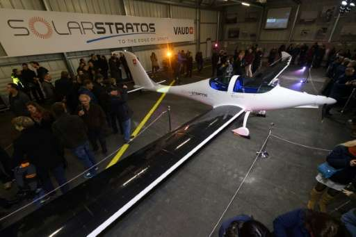 SolarStratos is scheduled to begin test flights next February