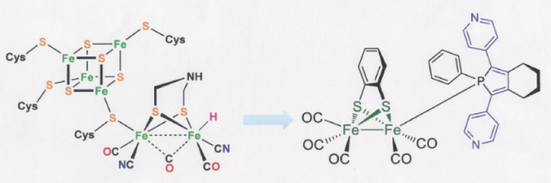 Sophisticated enzyme-mimic enables efficient hydrogen production