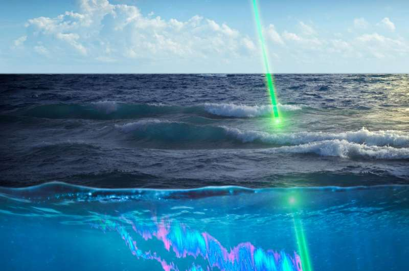 Space-based lidar shines new light on plankton