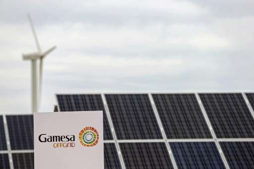 Spanish renewable energy group Gamesa said it would merge its wind turbine assets with those of German engineering group Siemens