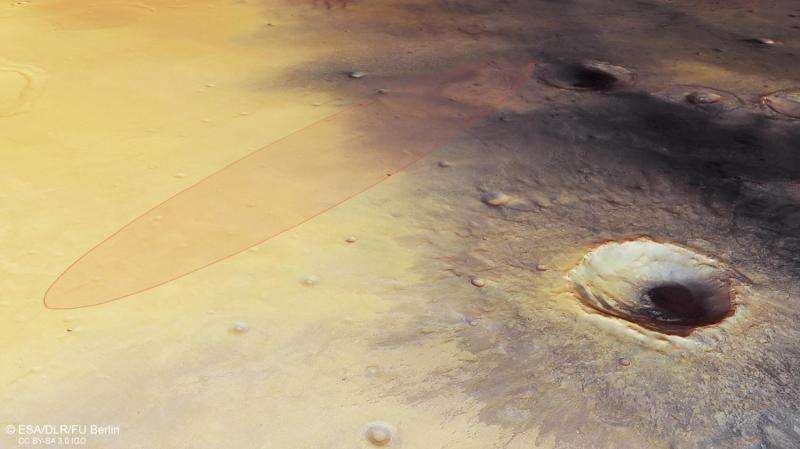 Spotlight on Schiaparelli's landing site