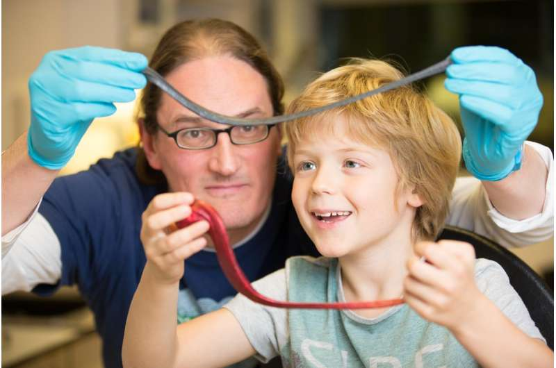 State of the art sensors made from graphene and children's toy silly putty