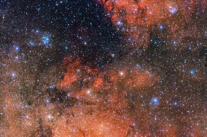 Stellar lab in Sagittarius