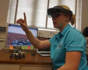 Student tests HoloLens for NASA, gets closer look at Mars surface