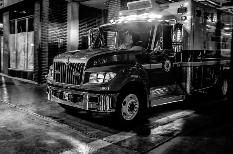 Study: Paramedics' risk of being assaulted far exceeds firefighting colleagues