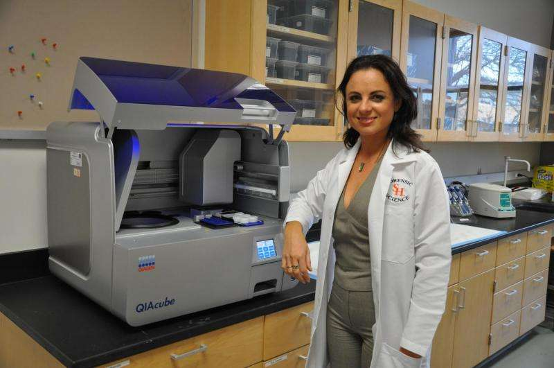 Study to develop new forensic methods for human DNA cases