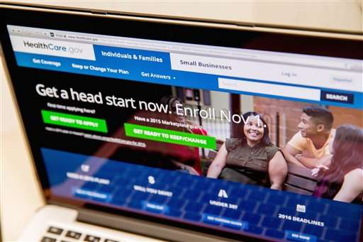 Sunday night deadline for 2016 health insurance enrollment