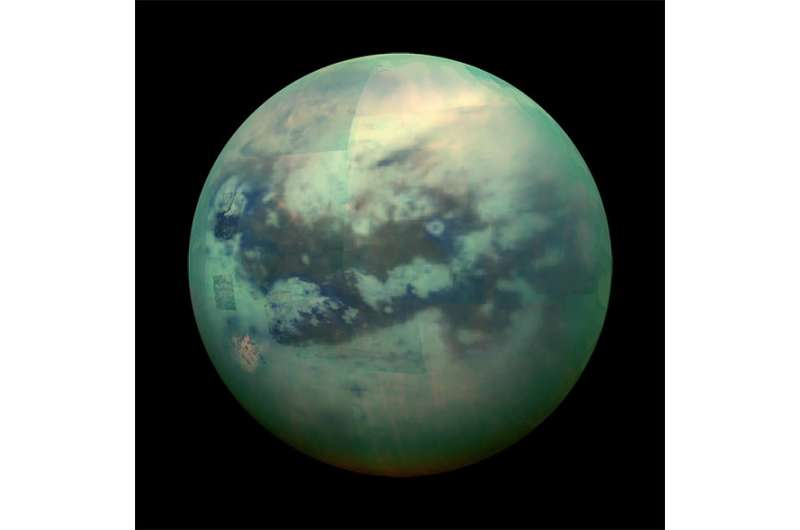 Synchrotron used to find structure of a new material that could be found on the surface of Saturn's moon Titan