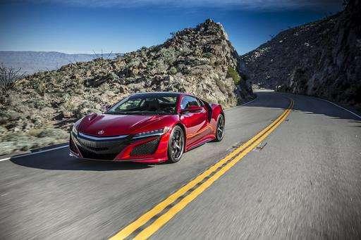 Tech on wheels: Acura NSX returns as gas-electric hybrid