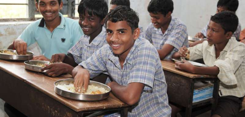 Teenage boys in India given better food than girls