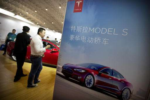 Tesla: Removal of 'Autopilot' from Chinese site a mistake