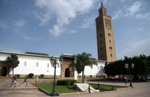 The As-Sunna mosque in the Moroccan capital Rabat is one of 64 mosques taking part in a project to reduce energy consumption ahe