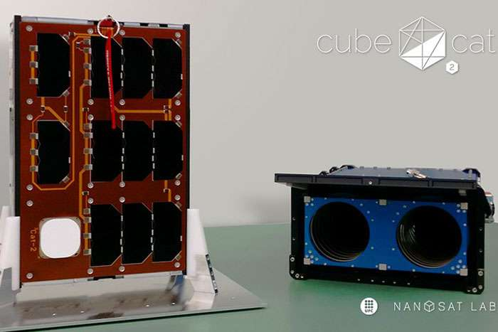 The first Catalan nanosatellite successfully launched with three experiments on board