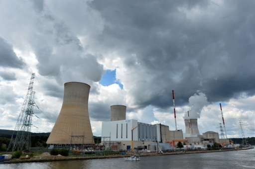 The nuclear power plant in Tihange, Belgium, is one of two in the country that Germany has asked to be temporarily shut down due