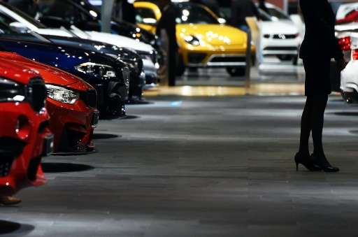 The press preview of the 2016 North American International Auto Show in Detroit, Michigan on January 12, 2016