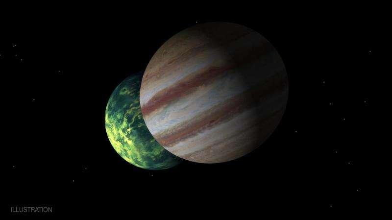 The proliferation of Jupiter-like worlds