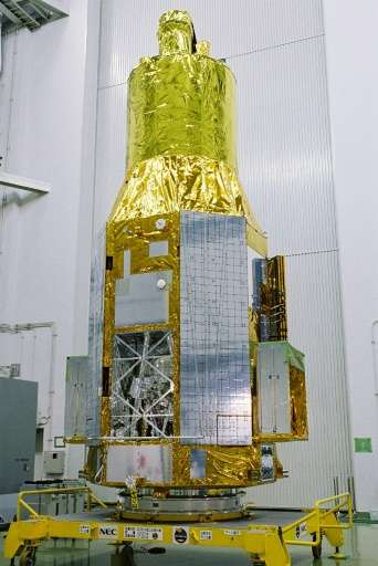 """The """"Hitomi"""" satellite was launched in February 2016 to observe X-rays emanating from black holes"""