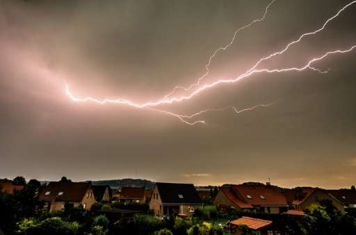 The UN World Meteorological Organization announced that France held the record for longest-lasting lightning bolt, with a flash