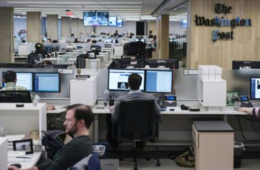 The Washington Post last year overtook The New York Times in digital visitors, claiming 76 million unique users in December, acc