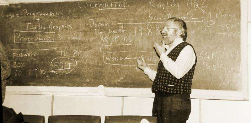 This little-known pioneering educator put coding in the classroom