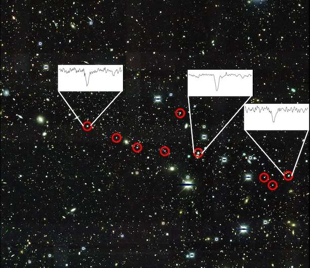 Tiny, ancient galaxy preserves record of catastrophic event