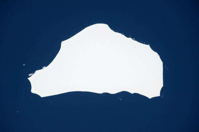 Tracking Tim's iceberg
