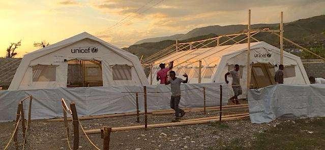Treating cholera in Haiti after Hurricane Matthew
