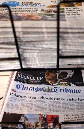 Tribune Publishing rejects Gannett's 'opportunistic' bid